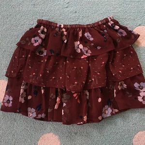 NWOT GAP Kids Floral Tiered Skirt  NEVER WORN